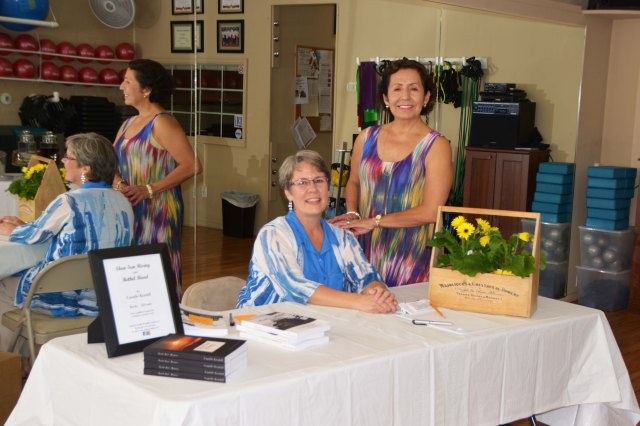 Caroline Duncan, owner of ADBC Fitness Studio, Inc., in Troy, TN, was our beautiful hostess for the event.